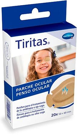 Tiritas parche ocular hipoalerg nico y transpirable for Parches para piscinas de plastico