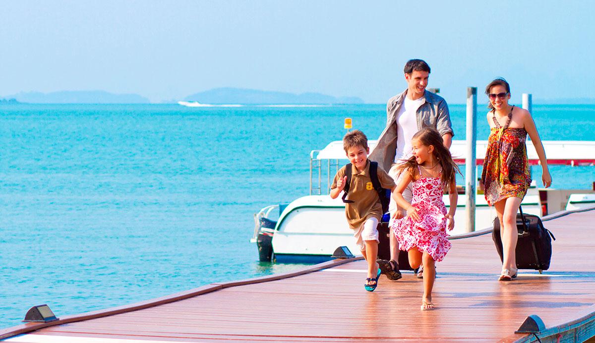 Destinos ideales para viajar en familia
