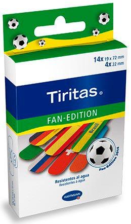 Tiritas fan edition con los colores de tu equipo de fútbol