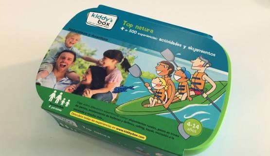fotografía de una caja Kiddy's Box